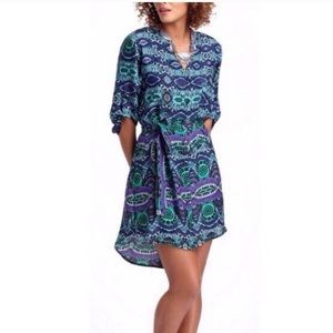 Maeve (Anthropologie) Ikat Shirt dress size XS
